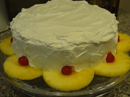 pineapple upside down layer cake | Favorite Recipes | Pinterest