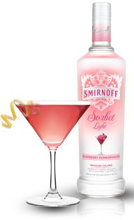 NEW Smirnoff Sorbet™ Light Berry Cosmo | Summer Fun | Pinterest