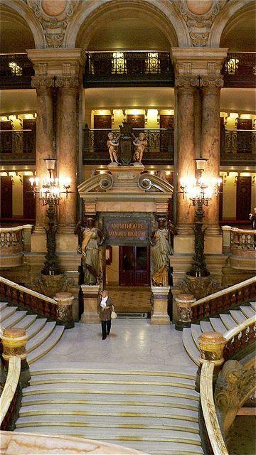 Opéra, Palais Garnier, Paris IX