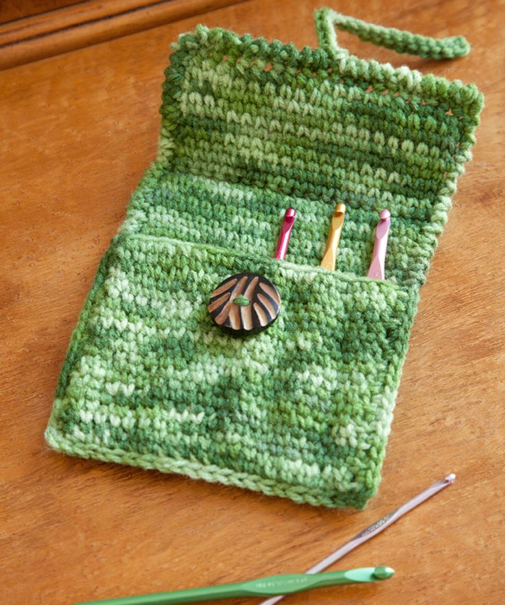 Crochet I Hook : crochet hook holder Knitting & Crochet Pinterest
