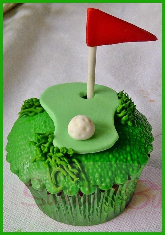Golf Cupcake Images : Golf Cupcakes ~! Golf Theme Party Cupcakes Pinterest
