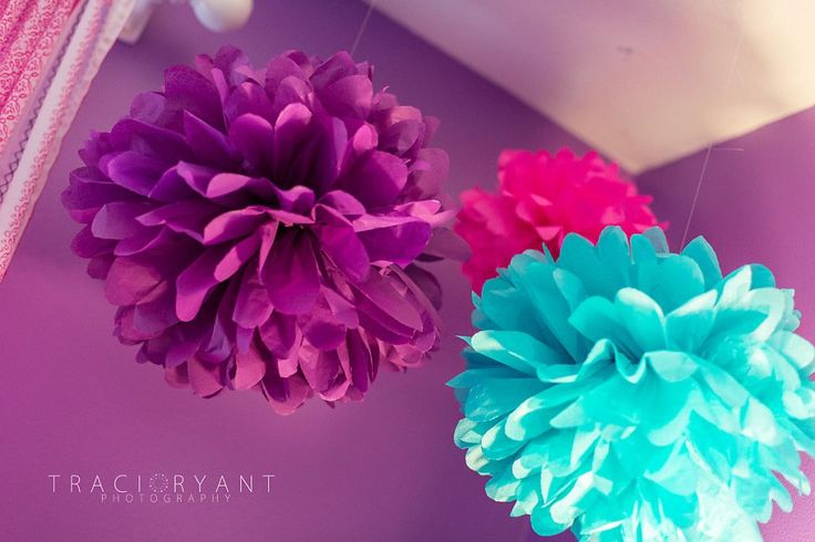 Poms in the nursery bring beautiful, bright pops of color! #BRITAXStyle