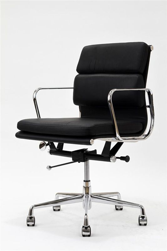 Modern office chair design - Instant Producer Chair In Black 329