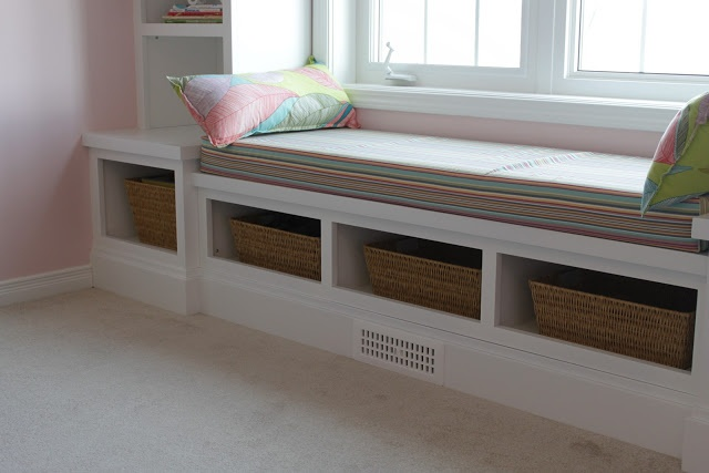 Window Bench Storage Baskets For The Home Pinterest