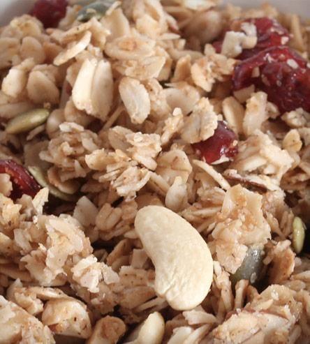 Cranberry Cashew Granola | desert recipes | Pinterest