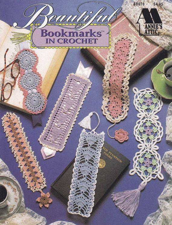 Crochet Patterns Bookmarks : Beautiful Bookmarks Crochet Patterns - 12 Thread Crochet Designs