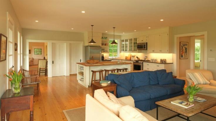 Cozy Open Kitchen Family Room Kitchen Great Room Design Decor Pinterest