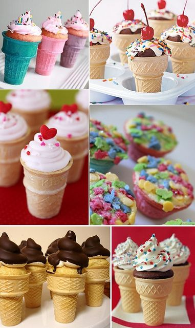 Recipe: Cake in a cone | Foooood :) | Pinterest