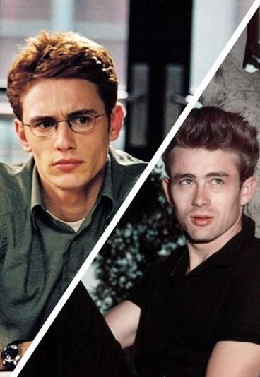 James dean james franco look alike