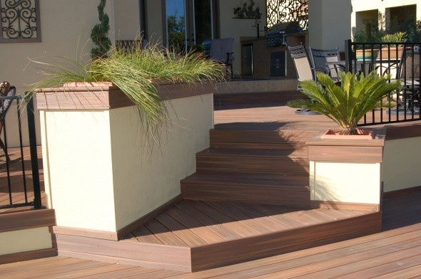 Best Ipe Deck Stairs Built In Planters Outdoor Living And 400 x 300