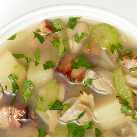 Rhode Island Clam Chowder | Sassy Sandwiches, Soups, Sides & Sauces ...