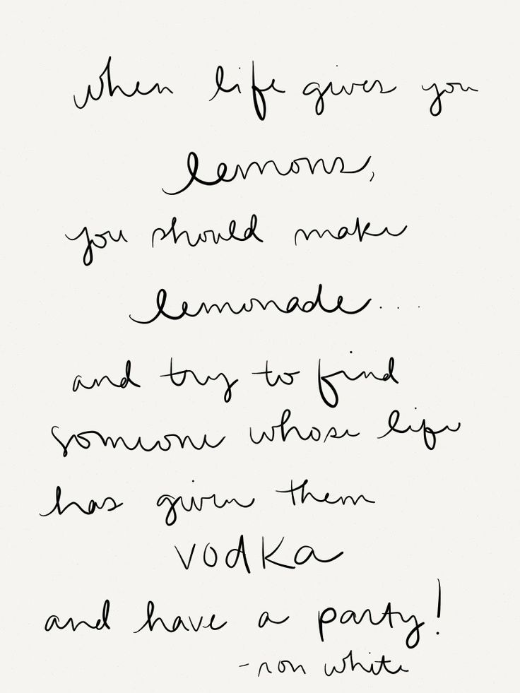 Looking for a friend with vodka today...