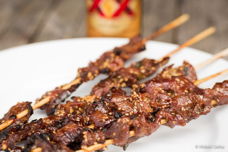 Korean Marinade & Beef Kabobs | FOOD! | Pinterest