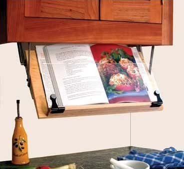 Amazon.com: Under Cabinet Cookbook Holder: Kitchen & Dining