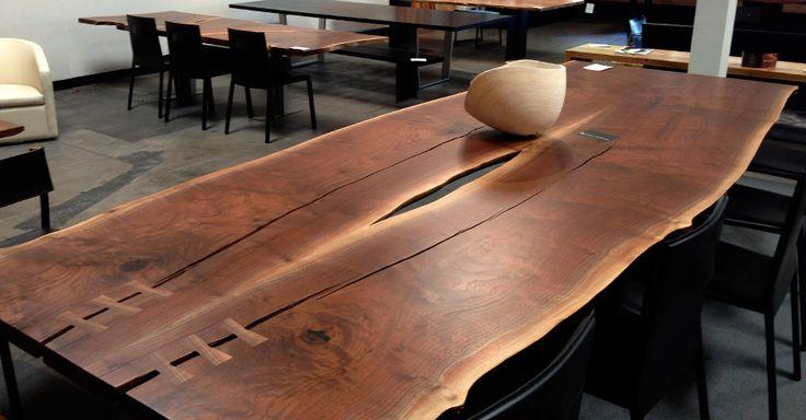 Wood Slab Furniture Urban Hardwoods Furniture