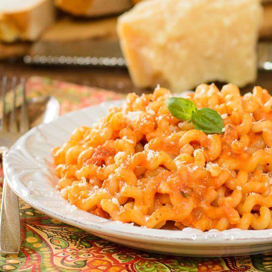 Pasta with Tomato Cream Sauce   cooking   Pinterest