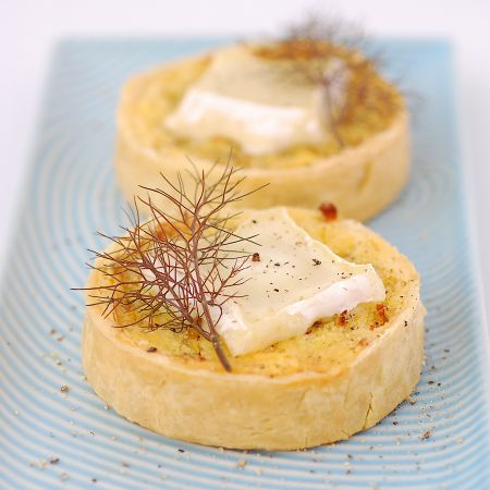 Fennel, Onion & Goats Cheese Tarts | About Food | Pinterest