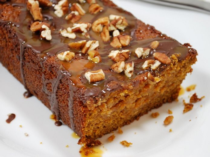 Pumpkin caramel Cheesecake Turtle Bread | Fall Desserts | Pinterest