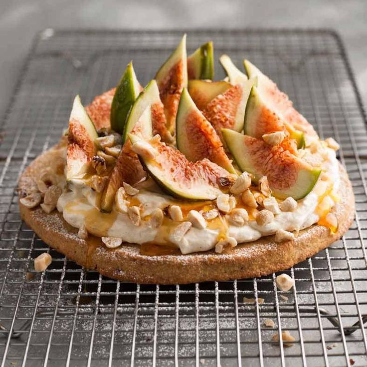 Fresh Fig And Toasted Hazelnut Spiced Shortbread Tart Recipe ...