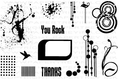 Grunge Me Stamp Set $15 - Papertrey Ink | Cards | Pinterest