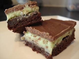 Grasshopper Brownies | I LOVE Brownies | Pinterest