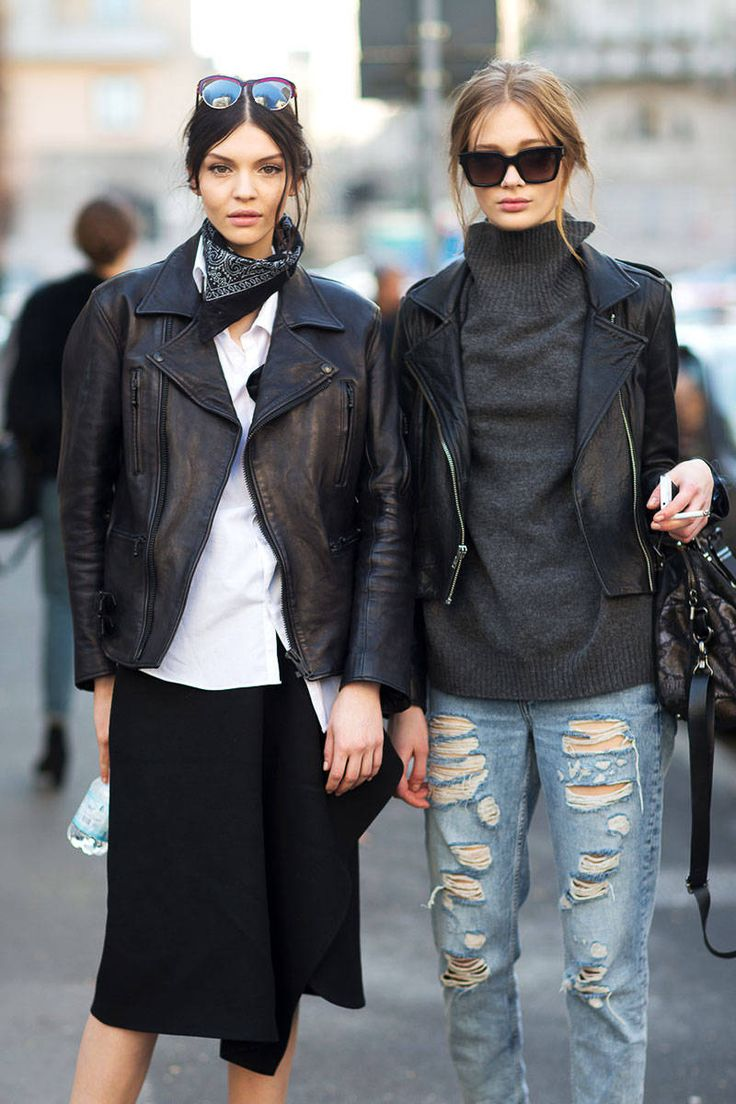 Street Style Milan Fashion Week Street Fall 2014 ~ absolute perfection