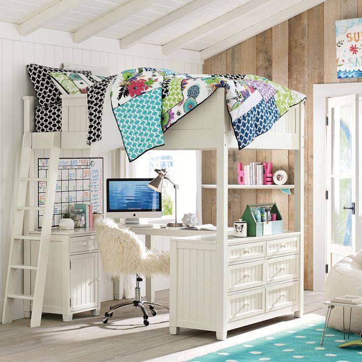 Ahhhh Pb Teen Loft Bed Bedroom Pinterest