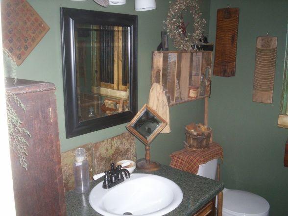 Primitive bathroom ideas primitive style country bathroom bathroom