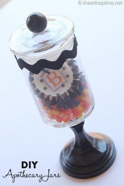 Diy apothecary jars crafts apothecary jars pinterest