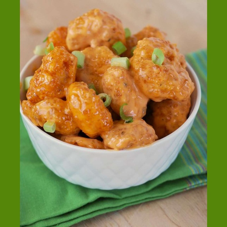 Make your own Bang Bang Shrimp from Bonefish Grill!! This will be amazing as a tailgate snack!