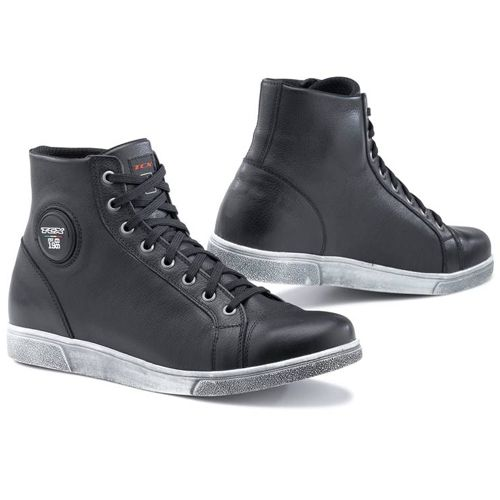 Now at Brian's! TCX X-Street Waterproof Black Motorcycle Sneakers for