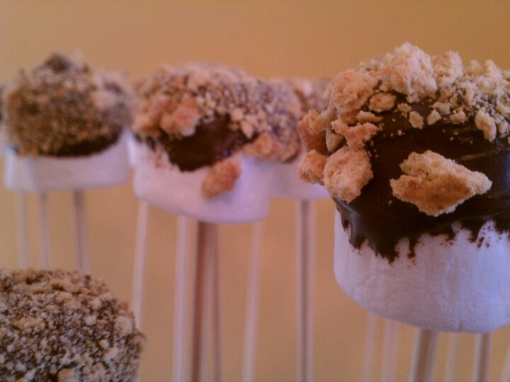 mores pops | Food For Thought | Pinterest