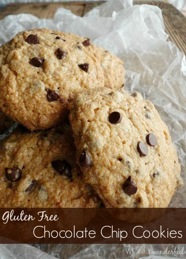 Gluten Free Chocolate Chip Cookie Recipe | !!BEST DESSERTS!! | Pinter ...