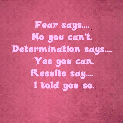 Via Chelsie GibsonFitness Determination Quotes