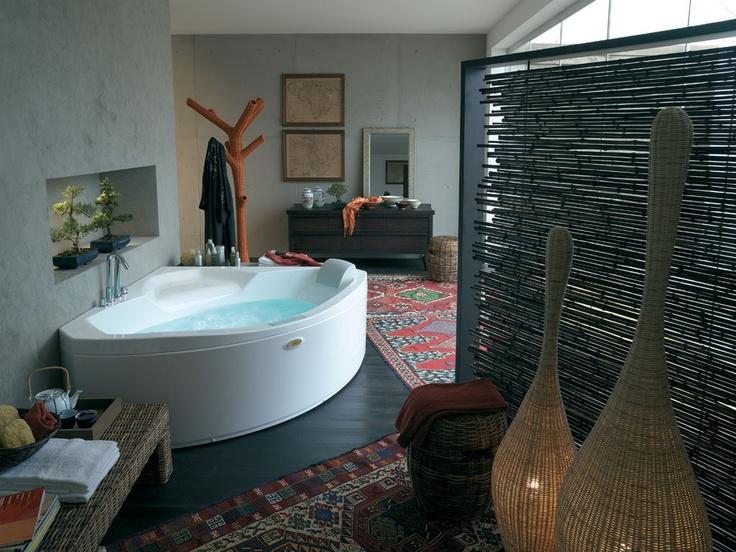 corner baths image garden hot tub dream bathroom