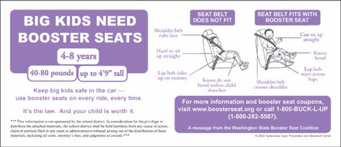 Washington State Car Seat Laws