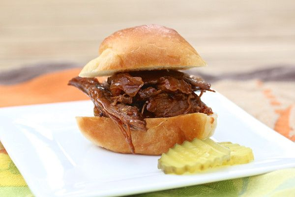 Barbecue Beef Sliders | Sammiches | Pinterest