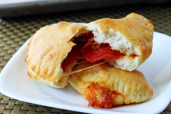 Pepperoni Pizza Hand Pie | Food-Fried Pies | Pinterest