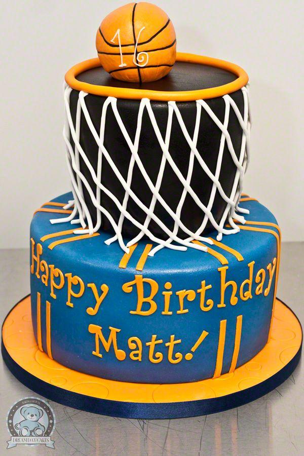 Birthday Cake For Basketball ~ Basketball birthday cake sports party pinterest