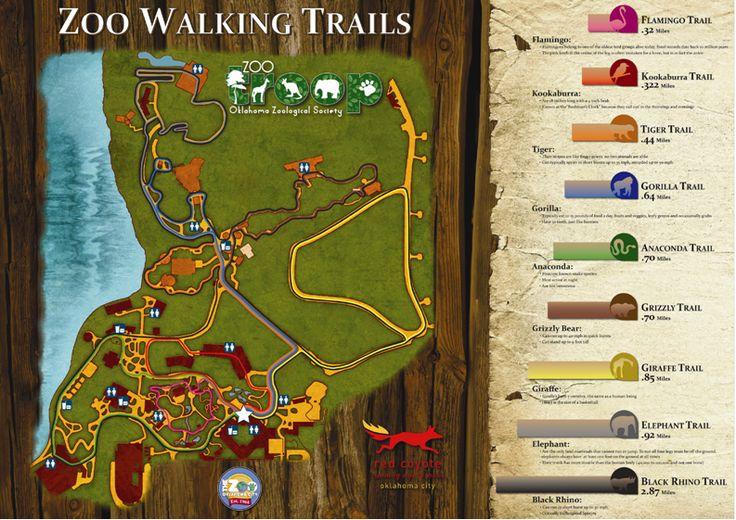 Zoo walking trails oklahoma city zoo oklahoma pinterest Oklahoma city zoo and botanical garden