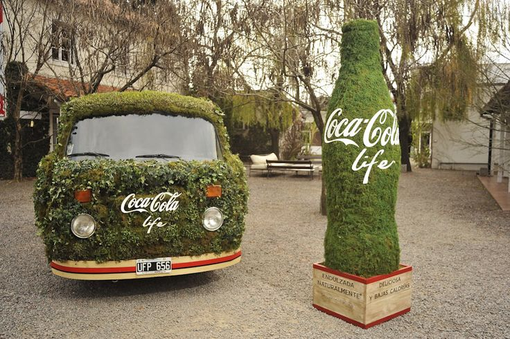 Coca-Cola Life - Sampling campaign - Activation