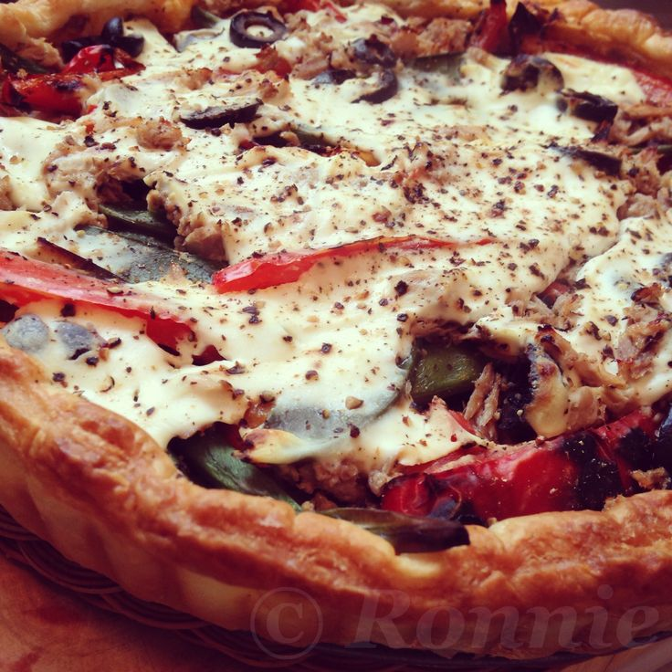 Mediterranean Tuna Tart ~ Melody of cooking