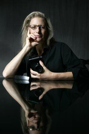 """I didn't want to let women down. One of the stereotypes I see breaking is the idea of aging and older women not being beautiful."" -Annie Leibovitz"