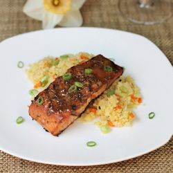 Grilled Maple Mustard Salmon | we love to cook | Pinterest