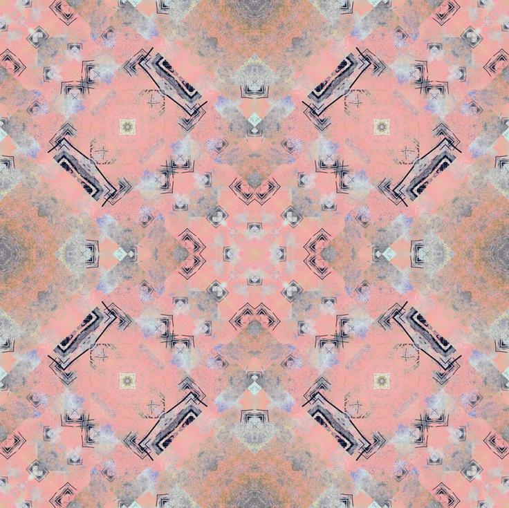 Bazaroide | Foulards | Pattern 004 | 100% silk pongee | 45X180 cm | Made in France