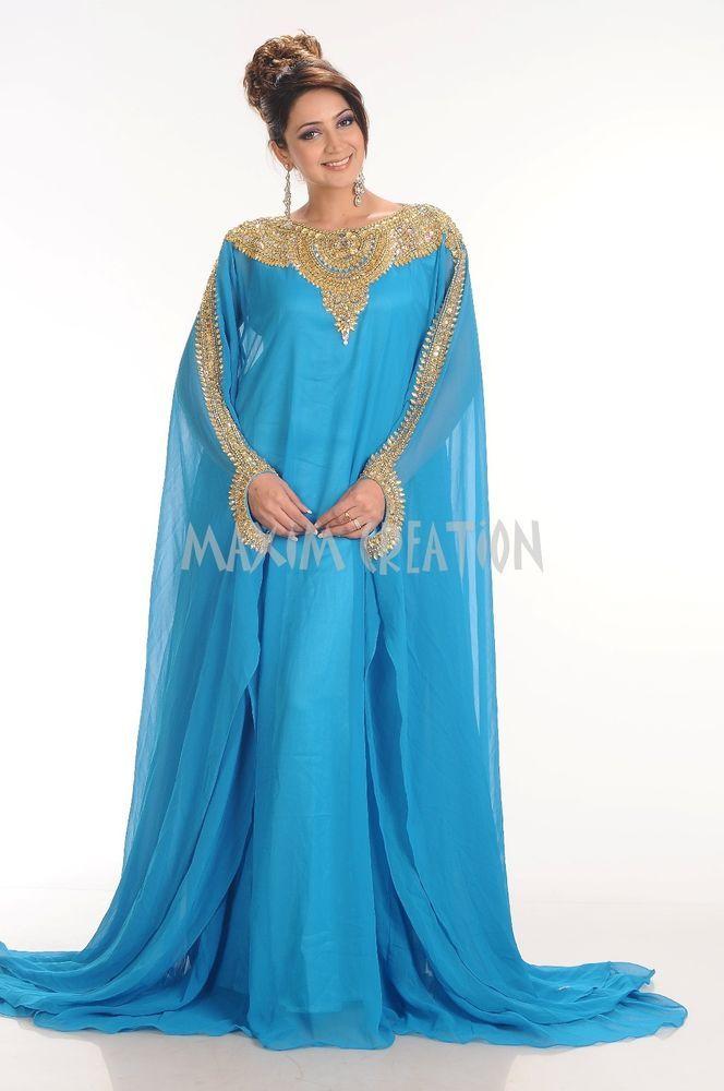 dubai farasha moroccan kaftan abaya jilbab islamic arabian dress 4164