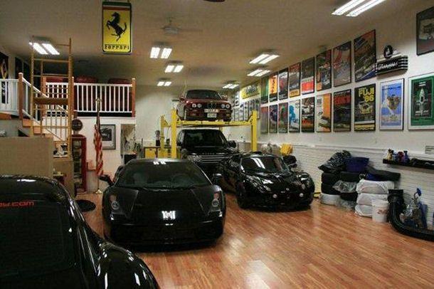 Dream garage varoooooooom pinterest Dream floor