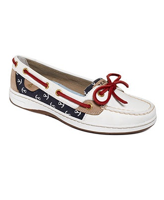 Sperry Top-Sider Womens Shoes, Angelfish Boat Shoes - Flats - Shoes