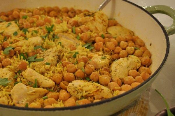 Chicken and Chickpea Pilaf | Chicken | Pinterest