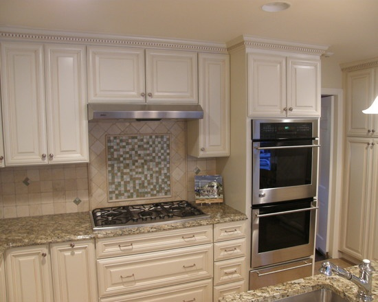 traditional kitchen double ovens design kitchen ideas